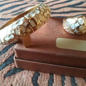 COACH Bangle and ring